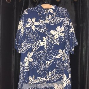 Tori Richard Hawaiian Print Floral Shirt 2XL